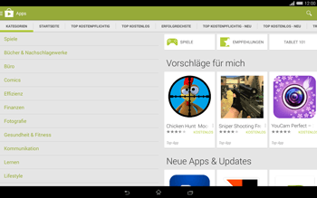 Sony Xperia Tablet Z2 LTE - Apps - Herunterladen - 6 / 20