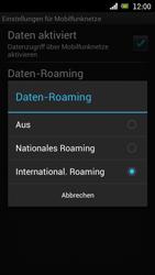Sony Ericsson Xperia Ray mit OS 4 ICS - Ausland - Im Ausland surfen – Datenroaming - 9 / 12