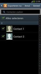 Samsung I9300 Galaxy S III - Contacten en data - Contacten kopiëren van toestel naar SIM - Stap 6