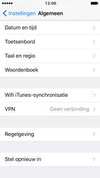 Apple iPhone 5s met iOS 10 (Model A1457) - Instellingen aanpassen - Fabrieksinstellingen terugzetten - Stap 4