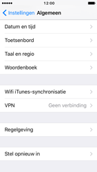 Apple iPhone SE - iOS 10 - Resetten - Fabrieksinstellingen terugzetten - Stap 4
