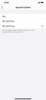 Apple iPhone XR - iOS 13 - Netzwerk - Netzwerkeinstellungen ändern - Schritt 6
