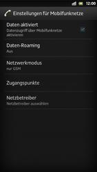 Sony Xperia S - Internet und Datenroaming - Manuelle Konfiguration - Schritt 8
