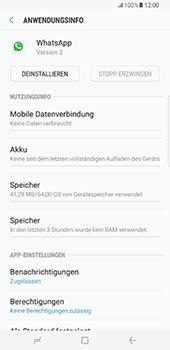 Samsung Galaxy S8 Plus - Apps - Eine App deinstallieren - Schritt 6