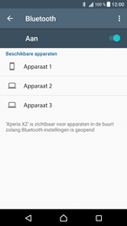 Sony Xperia XZ - Android Nougat - Bluetooth - koppelen met ander apparaat - Stap 8
