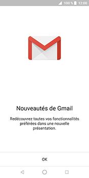ZTE Blade V9 - E-mail - Configuration manuelle (gmail) - Étape 4