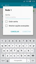 Samsung Galaxy S6 - Wi-Fi - Como configurar uma rede wi fi - Etapa 7