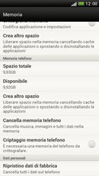 HTC One S - Dispositivo - Ripristino delle impostazioni originali - Fase 7