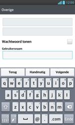LG E975 Optimus G - e-mail - handmatig instellen - stap 8