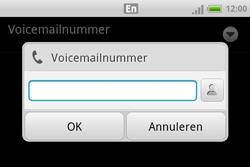 HTC A810e ChaCha - Voicemail - Handmatig instellen - Stap 7