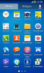 Samsung Galaxy Ace III - Startanleitung - Installieren von Widgets und Apps auf der Startseite - Schritt 5