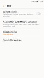 Samsung Galaxy S7 - Android Nougat - SMS - Manuelle Konfiguration - Schritt 10