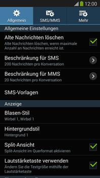 Samsung Galaxy Note 3 LTE - SMS - Manuelle Konfiguration - 6 / 10