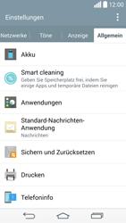 LG D855 G3 - Fehlerbehebung - Handy zurücksetzen - Schritt 7