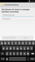 Wiko jimmy - E-Mail - Manuelle Konfiguration - Schritt 9