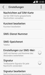Huawei Ascend Y330 - SMS - Manuelle Konfiguration - Schritt 8