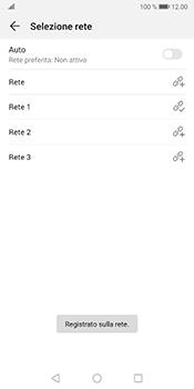 Huawei Mate 10 Pro - Android Pie - Rete - Selezione manuale della rete - Fase 11
