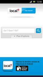 Sony Xperia U - Internet et roaming de données - Navigation sur Internet - Étape 11