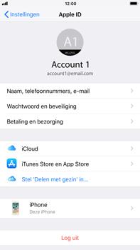 Apple iPhone 7 Plus iOS 11 - Beveiliging en privacy - zoek mijn iPhone activeren - Stap 4