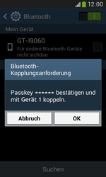 Samsung I9060 Galaxy Grand Neo - Bluetooth - Geräte koppeln - Schritt 9