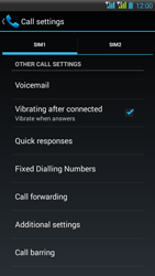 HTC Desire 516 - Voicemail - Manual configuration - Step 6
