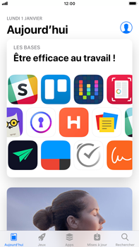 Apple iPhone 8 Plus - iOS 12 - Applications - Télécharger des applications - Étape 5