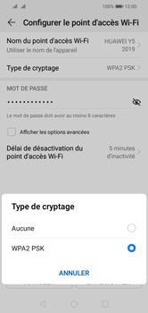 Huawei Y5 (2019) - Internet - comment configurer un point d'accès mobile - Étape 10