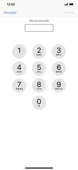 Apple iPhone XR - Beveiliging - Stel de pincode voor je simkaart in - Stap 8