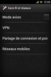 Sony ST21i Xperia Tipo - MMS - Configuration manuelle - Étape 5