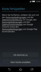 Sony Xperia Z2 - Apps - Konto anlegen und einrichten - Schritt 14