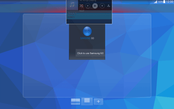 Samsung T535 Galaxy Tab 4 10.1 - Getting started - Installing widgets and applications on your start screen - Step 10