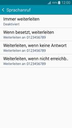 Samsung A300FU Galaxy A3 - Anrufe - Rufumleitungen setzen und löschen - Schritt 9