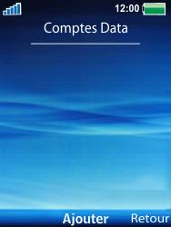 Sony W100i Spiro - Internet - Configuration manuelle - Étape 6
