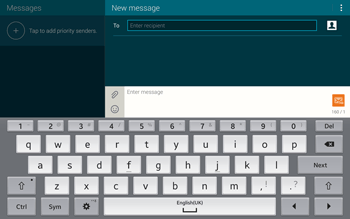 Samsung T805 Galaxy Tab S - MMS - Sending pictures - Step 4