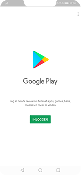 Huawei P Smart Plus - apps - account instellen - stap 3
