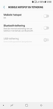 Samsung galaxy-a6-sm-a600fn-ds - WiFi - Mobiele hotspot instellen - Stap 6