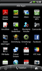 HTC A9191 Desire HD - WLAN - Manuelle Konfiguration - Schritt 3