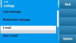Nokia N97 - E-mail - Manual configuration - Step 5
