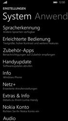 Nokia Lumia 830 - Fehlerbehebung - Handy zurücksetzen - Schritt 6