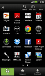 HTC Desire X - Applications - Setting up the application store - Step 3