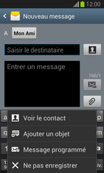 Samsung S7390 Galaxy Trend Lite - MMS - envoi d'images - Étape 9