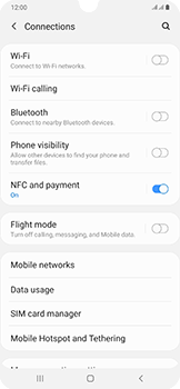 Samsung Galaxy A50 - WiFi - How to enable WiFi hotspot - Step 5