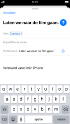 Apple iPhone SE (2020) (Model A2296) - E-mail - Hoe te versturen - Stap 7