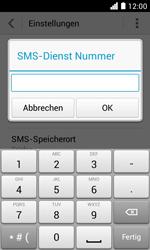 Huawei Ascend Y330 - SMS - Manuelle Konfiguration - Schritt 7