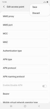 Samsung Galaxy Note 20 Ultra 5G - MMS - Manual configuration - Step 15