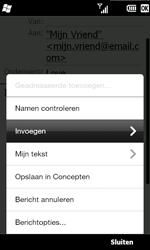 HTC T8585 HD II - E-mail - hoe te versturen - Stap 10