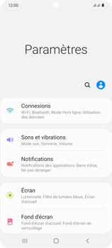 Samsung Galaxy S20 5G - Internet et roaming de données - Désactivation du roaming de données - Étape 4