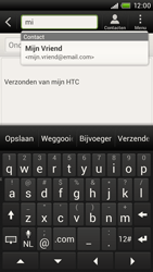 HTC S720e One X - E-mail - E-mail versturen - Stap 6