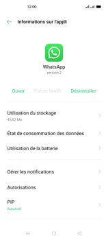 Oppo Reno 4Z - Applications - Supprimer une application - Étape 7