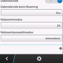 BlackBerry Q10 - Netzwerk - Netzwerkeinstellungen ändern - 8 / 8